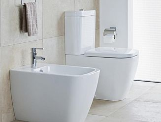 Duravit Happy D2 toilet and bidet