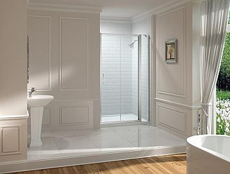 Merlyn 8 series sliding shower door