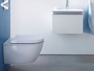 Duravit Darling new wall hung pan and vanity unit