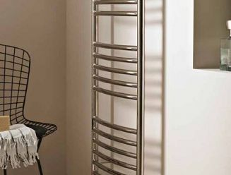 Instinct Kiso hot water towel rail